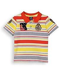 Lilliput Surfing Feel T-Shirt (8907264132060_Stripe_7 - 8 years)