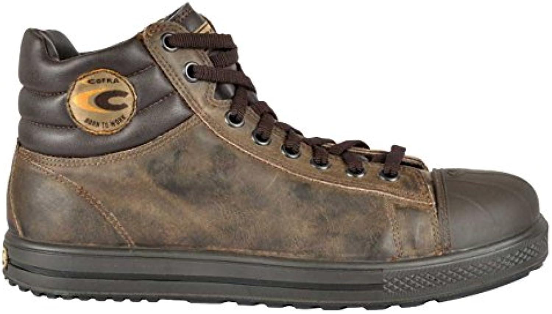 Cofra 35031 – 004.w46 stoppata S3 SRC – zapatos de seguridad talla 46 MARRÓN