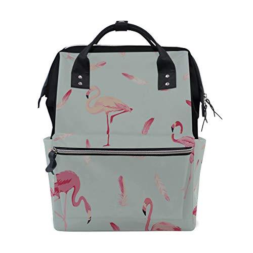 ier Rosa Farbe Große Kapazität Windel Taschen Mummy Rucksack Multi Funktionen Wickeltasche Tasche Handtasche Für Kinder Babypflege Reise Täglichen Frauen ()
