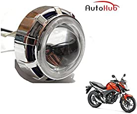 Auto Hub COB LED Projector Bike Headlight for Honda CB Hornet 160