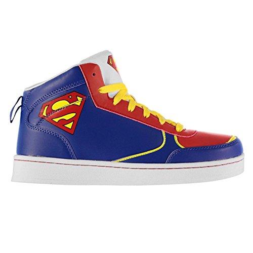 DC Comics Enfant Superman Hi Top Formateurs