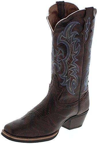 Justin Boots Damen Cowboy Stiefel SVL7316 B Braun, Groesse:37.5 (7.5 US) - Justin Western Cowboy Stiefel