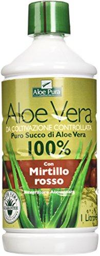 Optima Succo Aloe Vera con Mirtillo Rosso 1L
