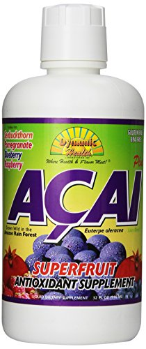 Dynamic Health, Acai plus, Mélange de jus, 32 oz (946 ml)