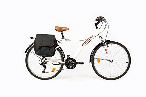Zoom IMG-1 moma bikes bicicletta ibrida shimano