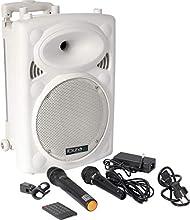 Ibiza PORT10UHF-BT-WH Enceinte Portable 500 W Blanc