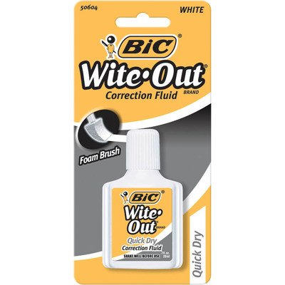 07-oz-wite-out-quick-dry-correction-fluid-with-foam-set-of-6