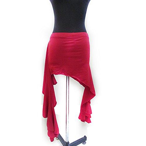 Kasit 1PC Frauen Bauchtanz Kostüm Tribal Hip Schal Wrap Gürtel Unregelmäßiger (Frauen Kostüme Home)