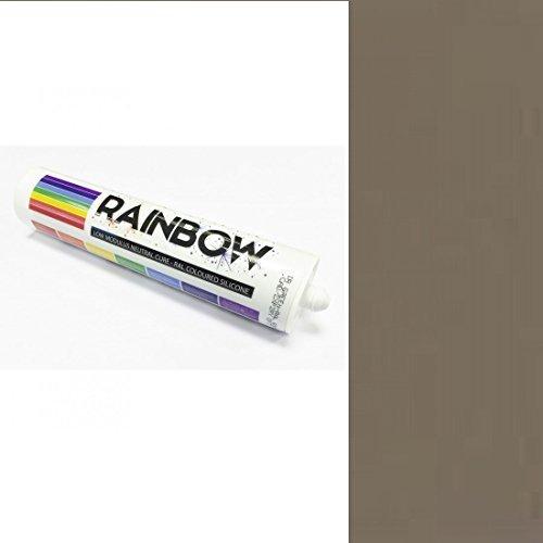 Rainbow RAL farbig Silikone grau beige Abdichten Mastix Dichtstoff RAL1019 300ml