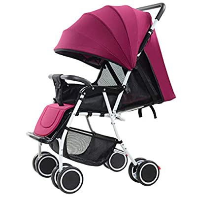 Lucun Lightweight Stroller, 2-In-1, Easy To Fold With Covered Multi-Color For Baby Born To 36 Months,1