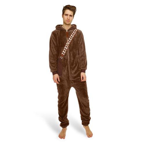 Star Wars - Chewbacca Overall Wookie Schlafanzug Hausanzug Kostüm Einheitsgr
