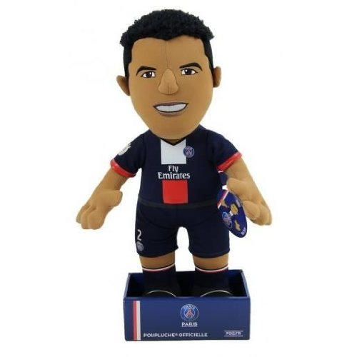 Poupluche Doudou PSG - Thiago Silva - Collection officielle PARIS SAINT GERMAIN - Taille 37 cm