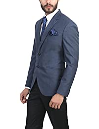 Amazonin Blue Suits Blazers Men Clothing Accessories