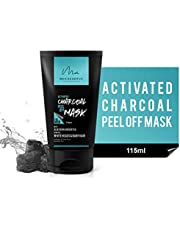 MEN DESERVE Activated Charcoal Peel Off Mask with Aloe Vera