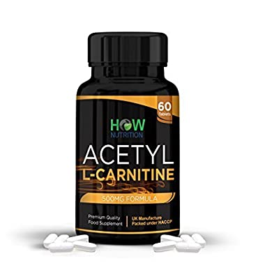 HOW Nutrition - Acetyl L-Carnitine - Increase strength and muscle mass