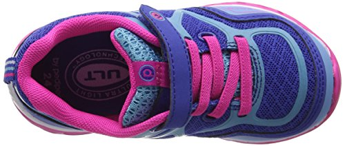 PediPed Force, Scarpe da Corsa Bambina Blue (Navy Fuschia)