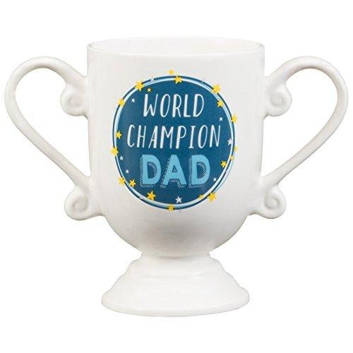 L' originale handsome chap collection per festa del papà, compleanno novità trophy tazza, world champion dad