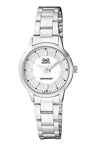 Q&Q Analog White Dial Watch For Women-Q969J201Y image