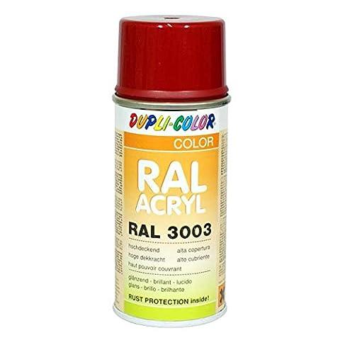 Duplicolor 626685 Spray Acrylique Ral 3003, Rouge Rubis Brillant, 150 ml