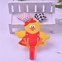 Comparador de precios Andensoner Conveniente Ganchos para Baño Gancho Adhesivo de Dibujos Animados Gancho montado en la Pared Gancho (Color : As Shown, Tamaño : Dressing Bird) - precios baratos