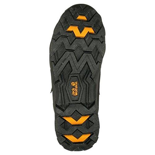 Jack Wolfskin ANCHORAGE TEXAPORE HIGH M Herren Trekking- & Wanderstiefel Grau (burly yellow 3800)