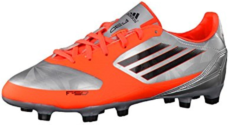 Adidas Fussballschuhe F30 TRX FG J 36 2/3 metallic silver/infrared/black