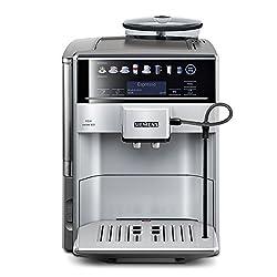 Siemens EQ.6 series 300 TE603501DE Kaffeevollautomat (1500 Watt, 15 bar, Direktanwahl durch Sensorfelder, oneTouch Function, Cappuccinatore) silber