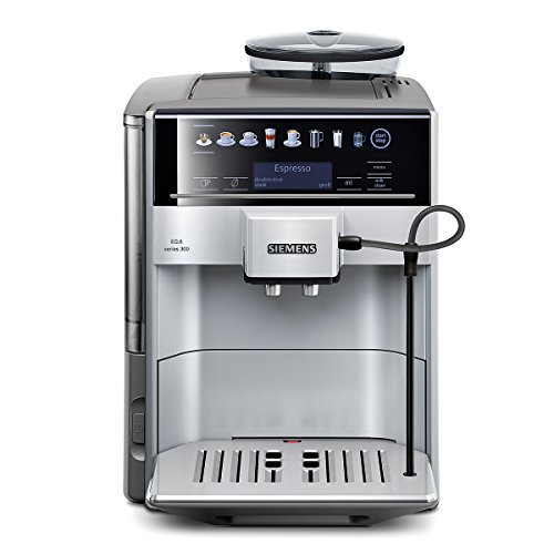 eq6 plus s700 Siemens EQ.6 series 300 TE603501DE Kaffeevollautomat (1500 Watt, 15 bar, Direktanwahl durch Sensorfelder, oneTouch Function, Cappuccinatore) silber