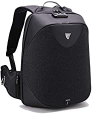 Classic Business Laptop Bag, Waterproof Anti theft Work Backpack with USB Charging Port for Men and Women - Bl