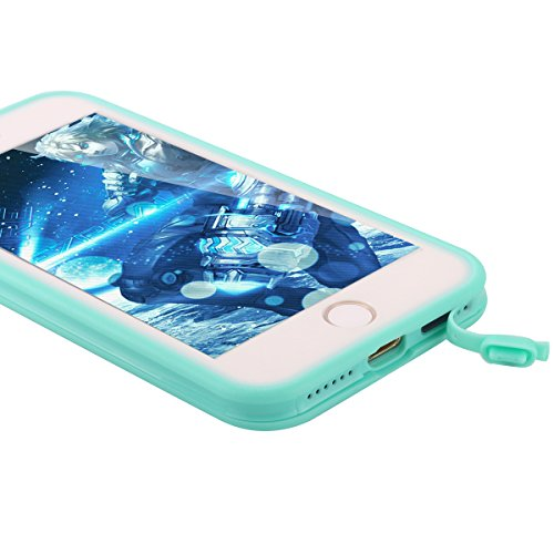 Custodia impermeabile iPhone 8/iPhone 7,iPhone 8/iPhone 7 Waterproof case, Snewill Water Resistant [360 All Round Protective] Ultra Slim Thin Light Shockproof Dust/Snow Proof Case Cover with Built-in  Teal