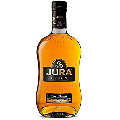 The Isle Of Jura 10 Year Old Origin Single Malt Scotch Whisky 35cl Half Bottle
