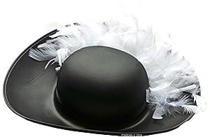 Lion Touch Liontouch-lt16106-Sombrero de Mosquetero-Talla única