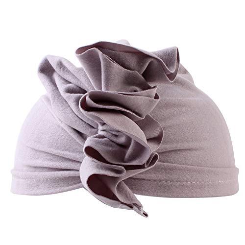 CHIRORO Baby Mütze Neugeborene Elastische Knoten Stirnband Turban Unisex Kleinkind Weich Bogen Fliege Schleife Haarreifen Kopfdeckung für Jungen Mädchen,Grau