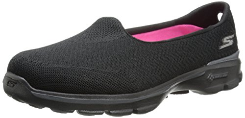 Skechers Go Walk Inisght, Women's Low-Top Sneakers, Black (BBK), 5 UK (8 US) (38 EU)