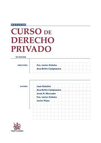 Curso de Derecho Privado 18ª Edición 2015 (Manuales de Derecho Civil y Mercantil)