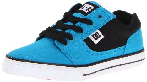 DC Shoes BRISTOL CNVAS D0303324A/B, Jungen Sneaker, Türkis (TURQUOISE/BLACK), EU 37 (US 6) (6.0 Skateboarding Schuhe)