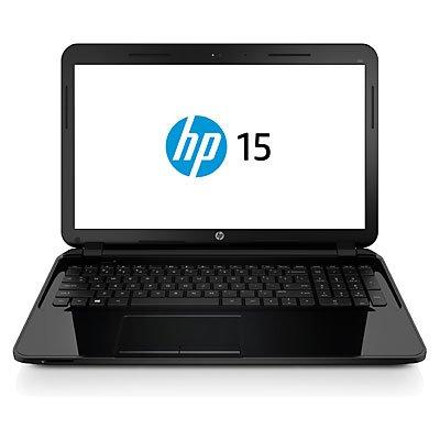 HP NB 15-G006SL Notebook, Processore AMD DC E1-2100, HDD 500GB, RAM 4GB, Nero/Antracite