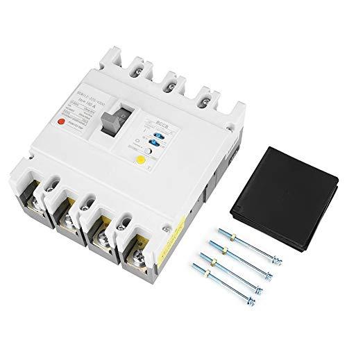 Zerone Interruptor automático, 160A Protección contra fugas Interruptor de aire del interruptor...