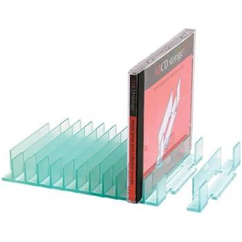 CD Storage Rack   Alphabetical CD Organiser (20 Capacity)