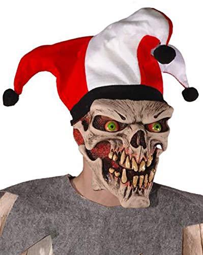Mask Head Jester Skull Die ()