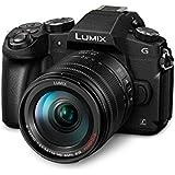 Panasonic DMC-G81HEG-K Lumix G Systemkamera (16 MP, 4K Foto-Video, Dual I.S. Bildstabilisator, OLED-Sucher, Hybrid Kontrast AF, 7,5 cm Touchscreen, WiFi) mit Objektiv H-FS14140/F3,5-5,6/ OIS schwarz