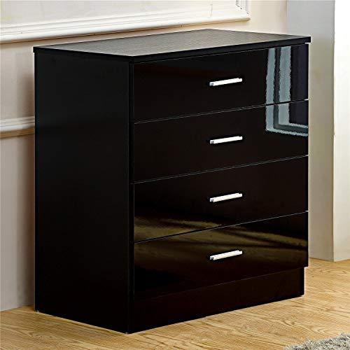 Gladini, cassettiera laccata a 4 cassetti, per la camera da letto ...