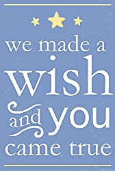 Heritage 1093 We Made a Wish Wall Decor, 10 x 8-Inch