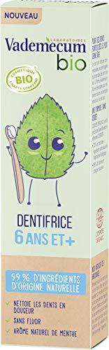 Vademecum Bio - Dentifrice Enfant - Goût Menthe - 6 ans et plus - 50ml