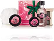 The Body Shop Festive Picks 5 pieces British Rose - moisturize in the refreshingly floral scent