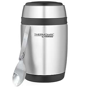 Thermos 400 ml Edelstahl gebogen Speisebehälter mit