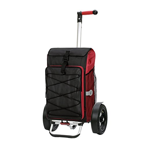 Shopping-trolley-Tura-with-pneumatic-wheels-Thor-red-volume-69L-3-years-guarantee-Made-in-Germany