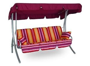 angerer comfort hollywoodschaukel ibiza mehrfarbig 3 sitzer. Black Bedroom Furniture Sets. Home Design Ideas