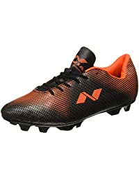 22104090bc7 Nivia Men's PVC Synthetic Leather Premier Carbonite Football Stud Shoes