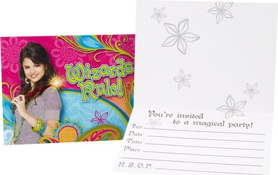 wizards-of-waverly-place-invitations-8-pack